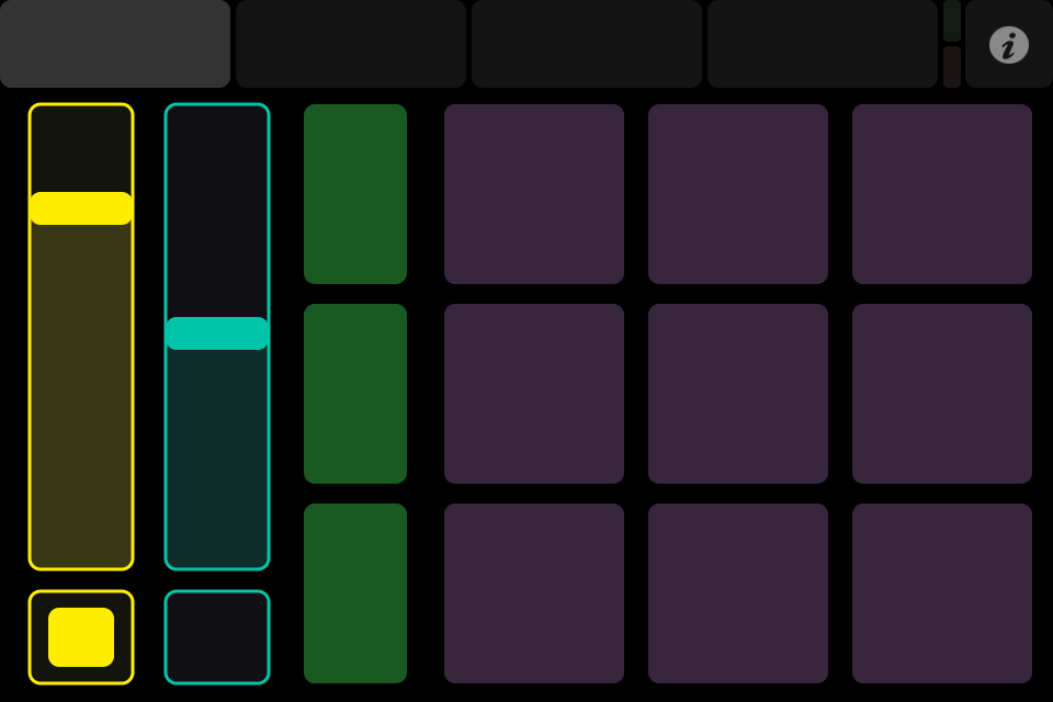 TouchOSC screen